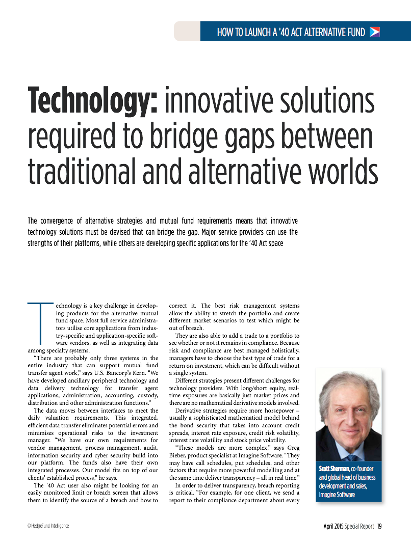 Technology: innovative solutions required to bridge gaps between