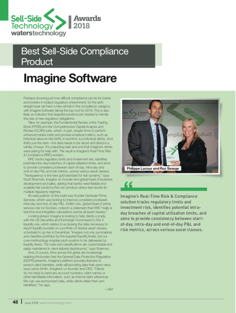 Best Sell-Side Compliance Product